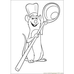 R9 Free Coloring Page for Kids