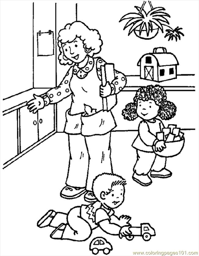 Mat 01 Coloring Page