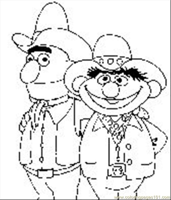 Sesamestreet012s Coloring Page