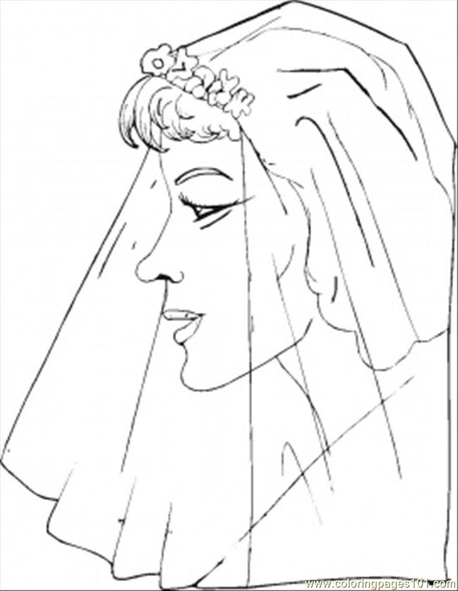 She Is Ready To Say Yes Coloring Page
