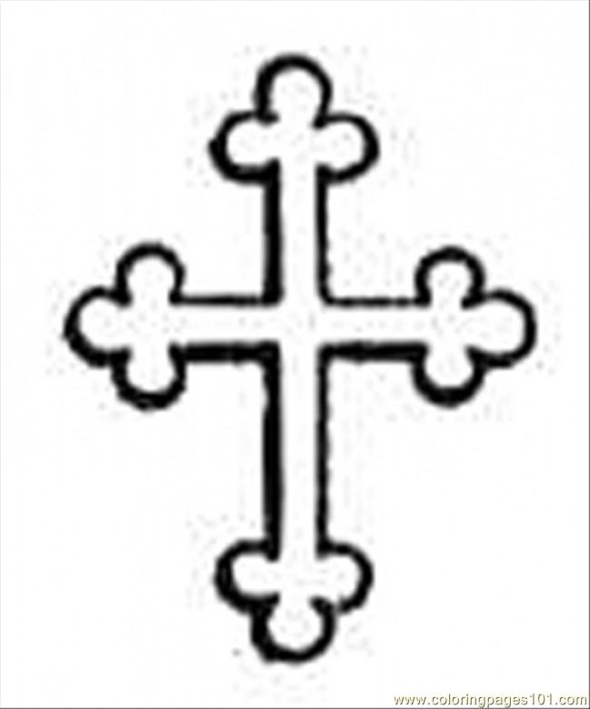 cross coloring page free religions coloring pages