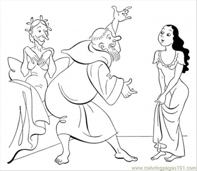 Dancing For A Girl Coloring Page