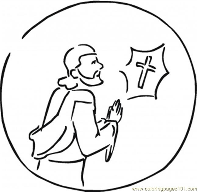Faithfull Coloring Page
