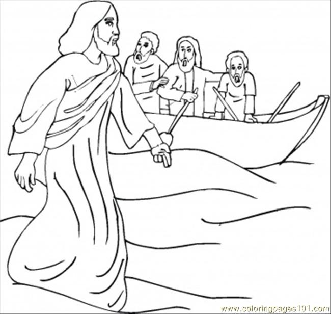 Miracle Coloring Page