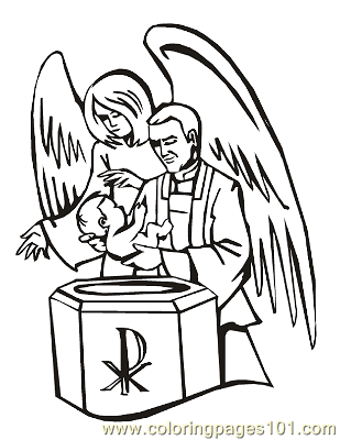 Angels 22 Coloring Page