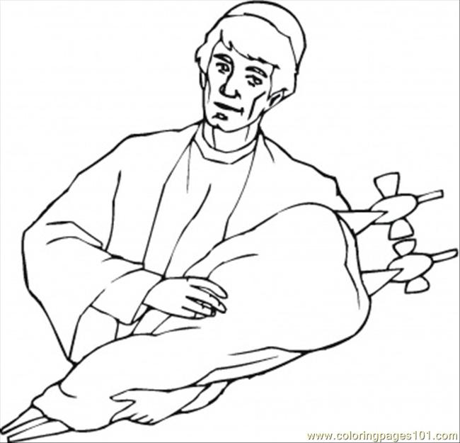 Bible Old Testament Coloring Page