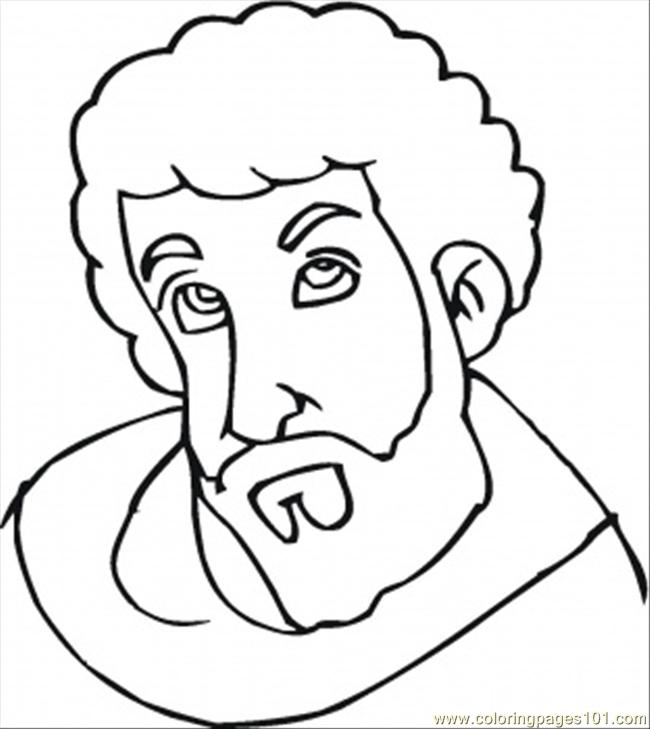 Joseph From Bible Coloring Page