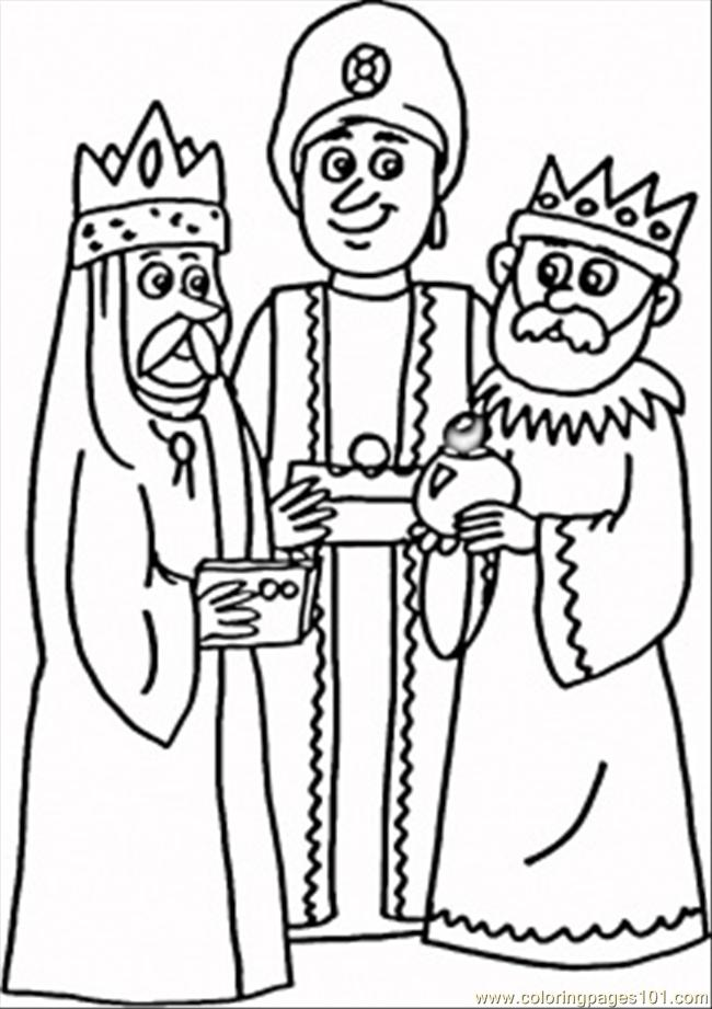 Kings Coloring Page