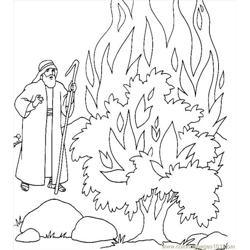 001 Moses 13 Free Coloring Page for Kids