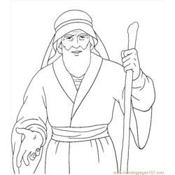 001 Moses 14 Free Coloring Page for Kids