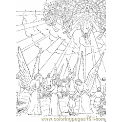 Jesus 13 Free Coloring Page for Kids