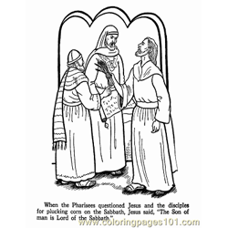 Jesus 20 Free Coloring Page for Kids