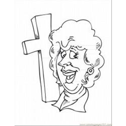 Ligious Coloring Pages 41 Med