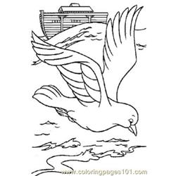 Noah 13 Free Coloring Page for Kids