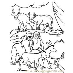 Noah 16 Free Coloring Page for Kids