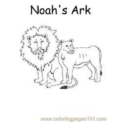 Noah 6 Free Coloring Page for Kids
