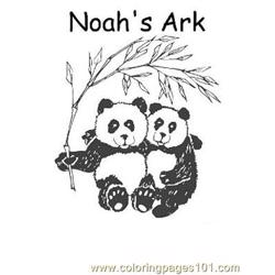 Noah 8 Free Coloring Page for Kids