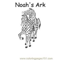 Noah 9 Free Coloring Page for Kids