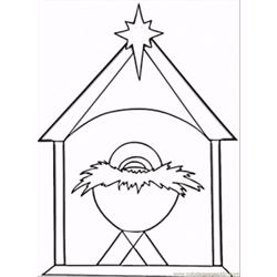 Stian Christmas Coloring Page