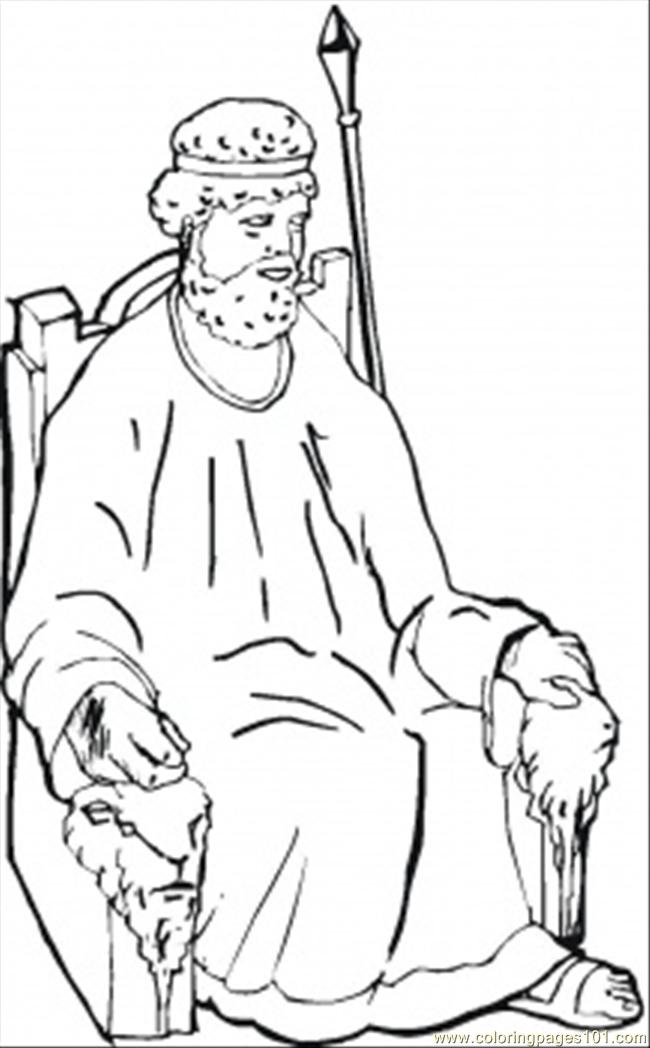 Wise Samuel Coloring Page