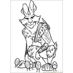 Rise Guardians 01 coloring page