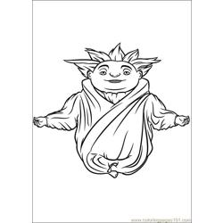 Rise Guardians 05 coloring page