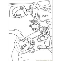 Robots 04 coloring page