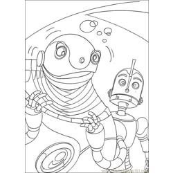 Robots 05 coloring page