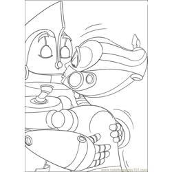 Robots 06 coloring page