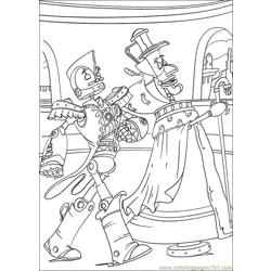Robots 08 coloring page