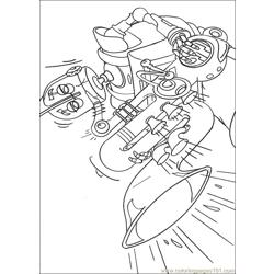 Robots 15 coloring page