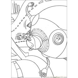 Robots18 Free Coloring Page for Kids