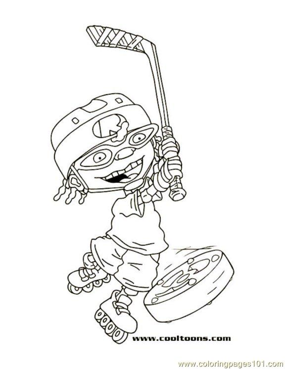 Ottohockey1 Coloring Page