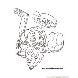 Samhockey1 coloring page