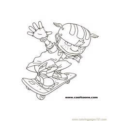 Twistboard1 coloring page