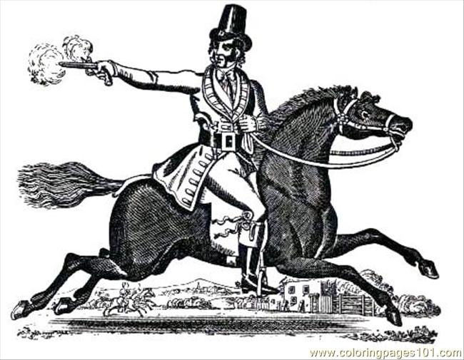 12 Dickturpin Coloring Page