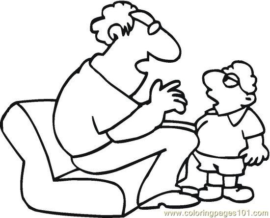 Grandparent (6) Coloring Page