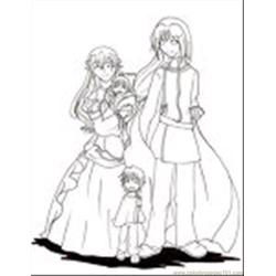 37  Family Lineart By Lunna Hime