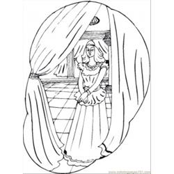 85 N Queens Palace Coloring Page