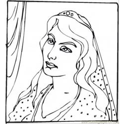 86 Queen Esther Coloring Page
