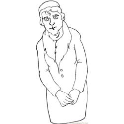 Grandparent (8) Free Coloring Page for Kids