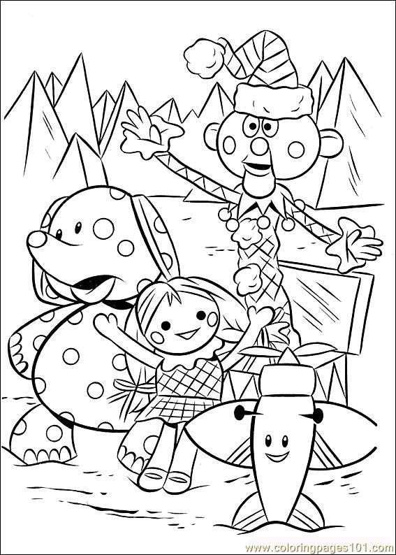 Rudolph 36 Coloring Page Free Rudolph the Red Nosed Reindeer