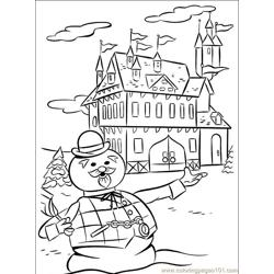 Rudolph 001 (1) coloring page