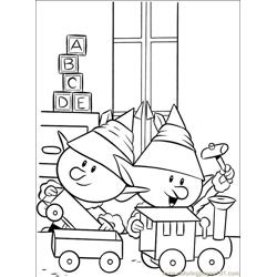 Rudolph 006 (1) Free Coloring Page for Kids