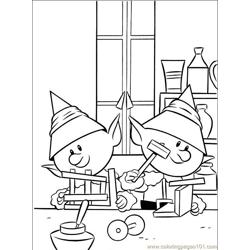Rudolph 006 (2) Free Coloring Page for Kids