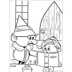 Rudolph 006 (3) Free Coloring Page for Kids