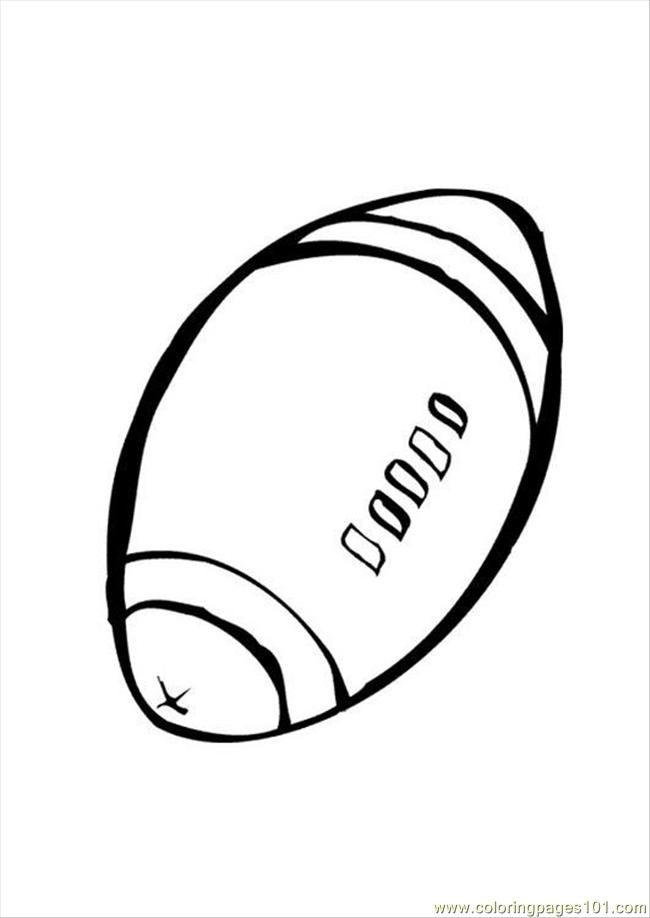 Rugby1 Coloring Page