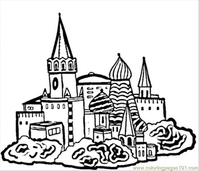 coloring pages of russia - photo#4