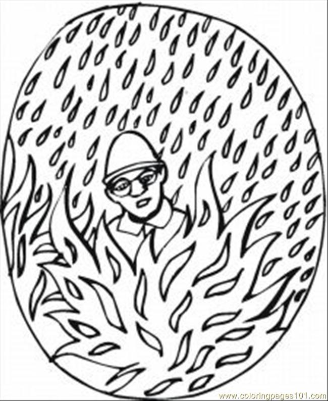 Saftey1 Coloring Page
