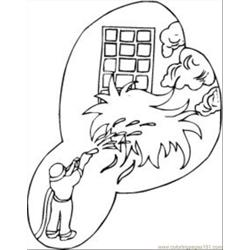 Safety4 Free Coloring Page for Kids